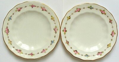 Royal Crown Derby bread and butter plates x 2