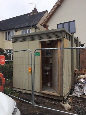 Site Office Cabin  3.8 x 2.7m Used