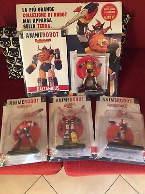 Anime Robot Collection - 4 Uscite Nuove Sigillate - Daltanius Daikengo God Sigma