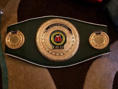 IBO Replica World Title Belt. Boxing Memorabilia