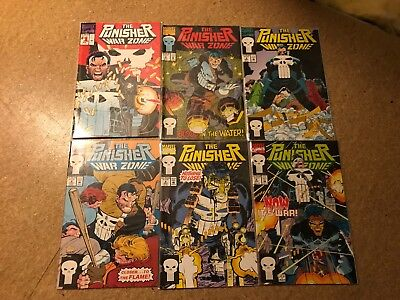 The Punisher War Zone #1-6 Chuck Dixon John Romita Jnr Marvel Comics