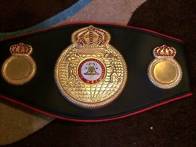 WBA Replica World Title Belt. Boxing Memorabilia