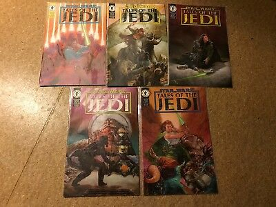 Star Wars Tales Of The Jedi Original Mini Series Dark Horse Comics Tom Veitch