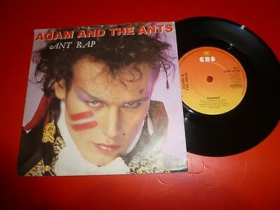 "Adam And The Ants * 7"" Vinyl* Antrap * 1981 *cbs A1738"