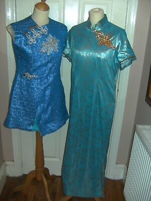 Pantomime Aladdin Prince And Princess Theatrical Costumes Theatre Stage Show