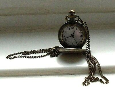 Pendant watch on 26 inch chain
