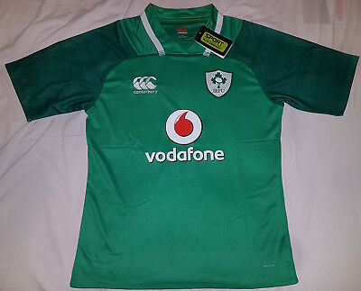 Ireland Home Nations 2017/18 Rugby Jersey XXL