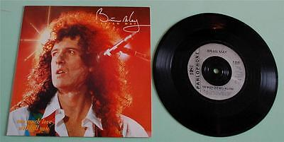 Brian May - Too Much Love Will Kill You - 1992 UK 7""