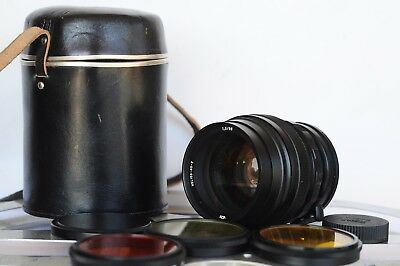 Mint 1984 HELIOS-40-2 85mm f1,5 lens Made USSR with Cups Case Filters  M42 mount