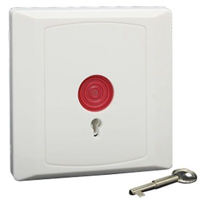 Square Family Office Emergency Panic Button White A4U9