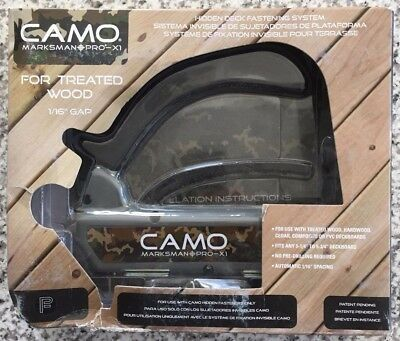 NEW Camo Marksman Pro X1 Hidden Deck Fastener System by National Nail