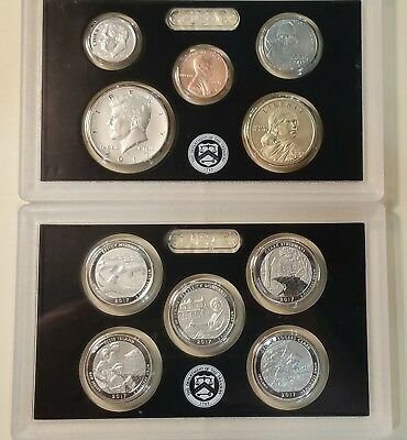 2017 S 225th Anniversary Enhanced Uncirculated Set LIVE IN HAND SHIPS NOW