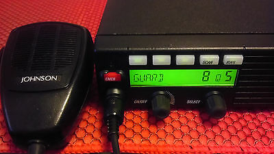 YES! EF Johnson RS-5317 5300 VHF P25 50WATT ALL CABLES HAND or DESK MIC
