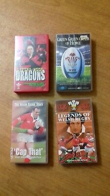 Welsh Rugby vhs video's