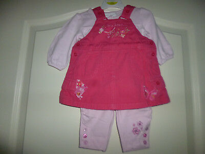 """George Engl. zauberhaftes 2tlg Outfit """"Little Butterflys"""" Gr: First Size"""