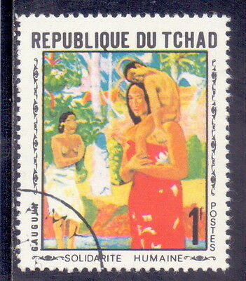Chad  Stamp Theme  Nude paintings (p24).