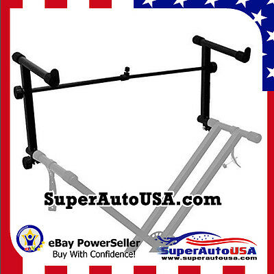 Universal Stand 2 Tier Keyboard Stand for X/ Electronic Piano Adjustable Adapter