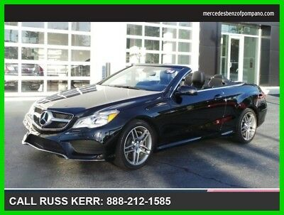 2014 Mercedes-Benz E-Class E 550 2014 E 550 Used Turbo 4.7L V8 32V Automatic Rear Wheel Drive Convertible Premium