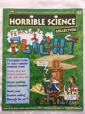 Horrible Science Magazine. No47, Fearsome Flight