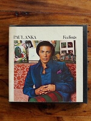 "Reel to Reel  PAUL ANKA ""Feelings""   4Track  3 3/4ips stereo"