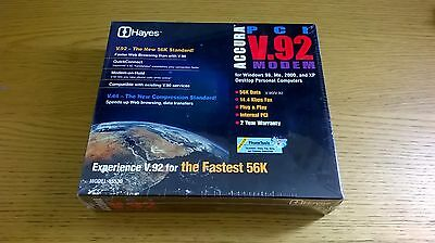 Hayes Acura V.92 PCI Modem, New in Wrapper!