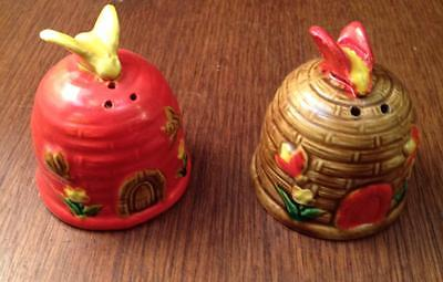 Beehive Salt and Pepper Made in occupied Japan