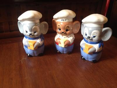 RobBoy mouse shakers, vintage, retro
