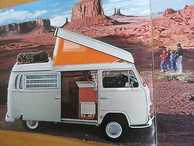 1969 Volkswagen Type 2 Campmobile Brochure