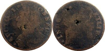 1787 Connecticut Copper, Miller 47-a.3, VERY RARE variety, ex TED CRAIGE, VG!