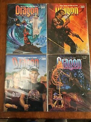 Dragon Magazine Lot of 15, TSR, Dungeons and Dragons