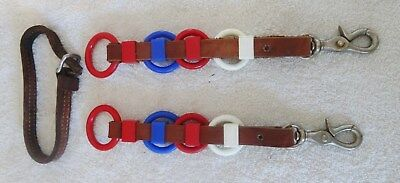 Horse Harness Leather Line Spreaders
