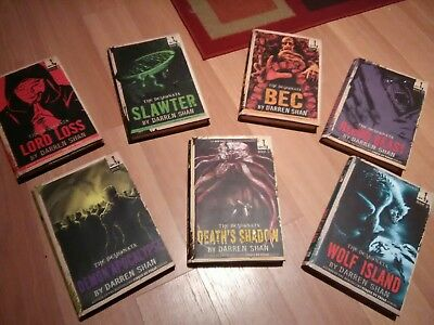 Demonata Series First Edition Lot 1, 3, 4, 5, 6, 7, 8