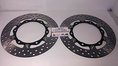2 Front Brake Discs Rms Floating Yamaha Xp T-Max Tmax Abs 2008 2009