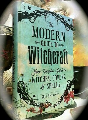 Modern Guide To Witchcraft, Covens & Spells ~ 1St Print 2014 Hc ~ Wiccan Occult