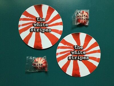 The White Stripes Jack White Sticker and Candy