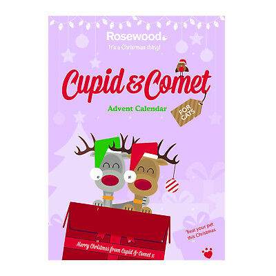 Christmas Cupid & Comet Advent Calendar For Cats