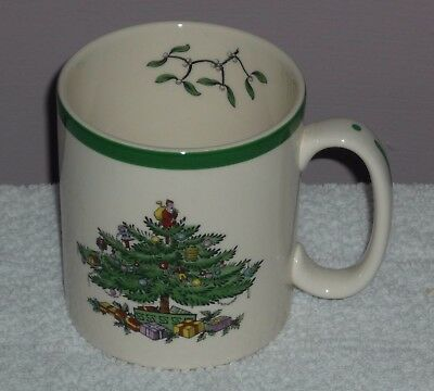 Spode Christmas Tree Mug   Made In England 1St Quality