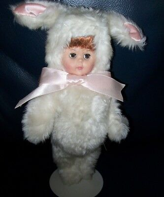 "Ginny Doll Dressed in a Bunny Costume, 9"" Tall, Very Good Condition"