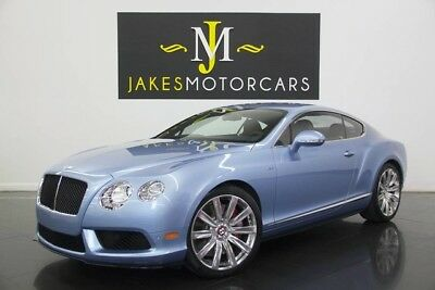 2015 Bentley Continental GT V8 S ($218K MSRP~ONLY 500 MILES!~$65,000 OFF MSRP! 2015 CONTINENTAL GT V8 S, $218K MSRP, ONLY 500 MILES! SILVERLAKE ON DARK BOURBON