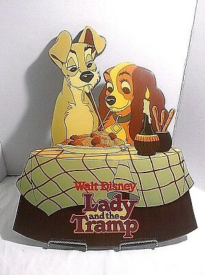 "Walt Disney  Lady and the Tramp Vintage Sign 20"" x 16"""