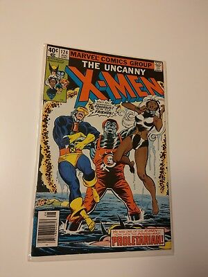 Uncanny X-Men 124 (Aug 1979, Marvel) Beautiful Copy Key Issue Dark Phoenix Saga!