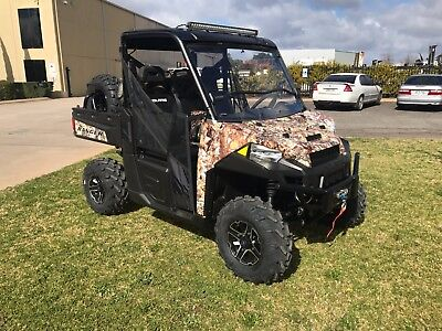POLARIS RANGER XP 1000 EPS -CUSTOM BUILT HUNTER EDITION- Save $1500
