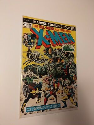 Uncanny X-Men 96 (Dec 1975, Marvel) Key Issue - 1st Moira MacTaggert!