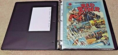 1939 Red Ryder Western #1 Comic Book 10 Cent Comic Owned By Artist Ed Lahmann