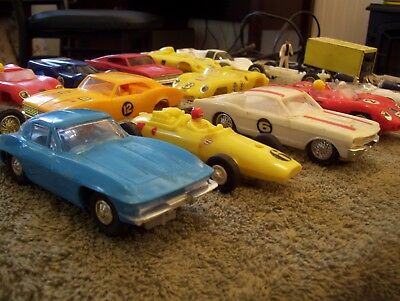 Vintage Toy Slot Car Racing Stable - Must See & No Reserve!!