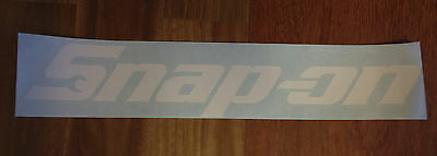Snap On Tools Advertising Decal/Sticker,Garage, Shop,Vintage,Tool Box. WH195x35