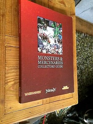 Warhammer: MONSTERS & MERCENARIES COLLECTORS' GUIDE # 9I87