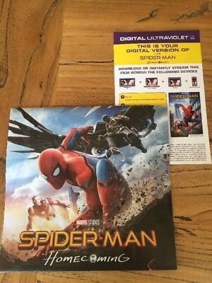 SPIDER-MAN HOME COMING - ULTRA VIOLET Code Only