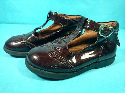 lc Vintage Girls Shoes Time Nordstrom Made in Italy Brown Size 25