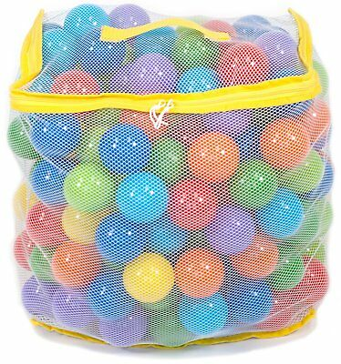 200 Crush Proof Plastic Pit Balls Fill Tent Playhouse Pool Bounce House Non Toxi